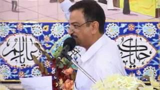 المدّأح الحاج محمد الحلواجي في الحسينية النجفية