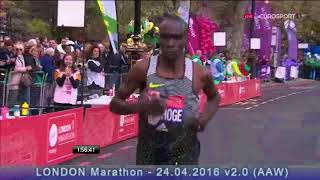 Eliud Kipchoge 2016 London