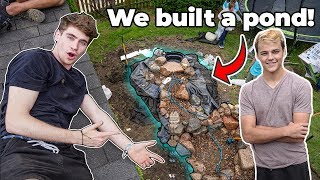 My FIRST POND!!!  (ft. Paul Cuffaro + The Pond Guy)
