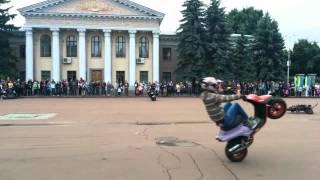 PSC Pereyaslav Scooter Club - CME TV(Привет всем, представляю Вам интервью с лидером PSC-Pereyaslav Scooter Club Евгением Калантаем, а также их выступление..., 2015-09-14T09:02:27.000Z)