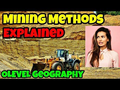OPEN CAST Vs ADIT & SHAFT Mining Methods | Explained By Mohammad Usman