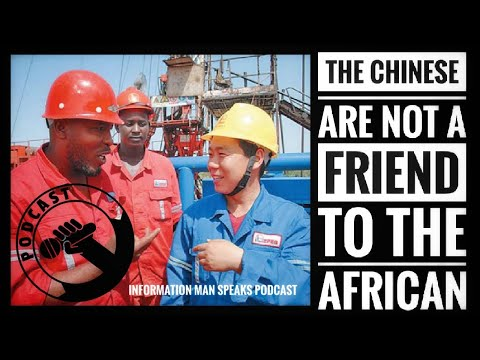 African Brother Fights Back As Chinese Man Tried To Disrespect him In Africa