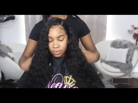 FRONTAL WIG INSTALLATION FT YOUTH BEAUTY HAIR