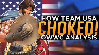 Overwatch: How Team USA CHOKED! - OWWC Analysis thumbnail