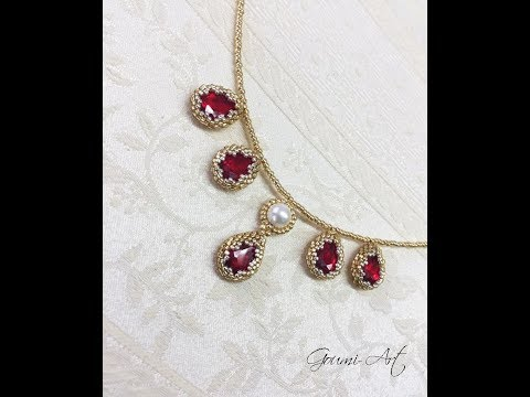 crystal drops earrings- θήκη για κρύσταλλα σταγόνες