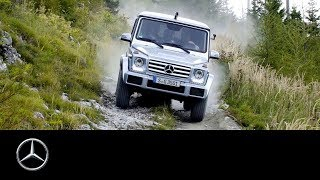 Mercedes-Benz G-Class: Extreme Off-Road Test