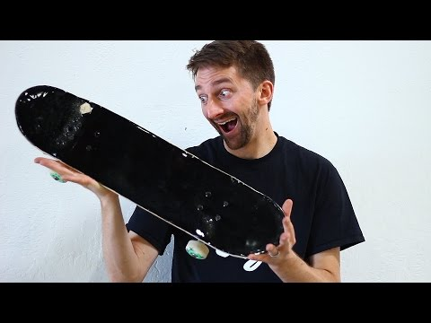 EXTREMELY FRAGILE CERAMIC SKATEBOARD | YOU MAKE IT WE SKATE IT EP 117