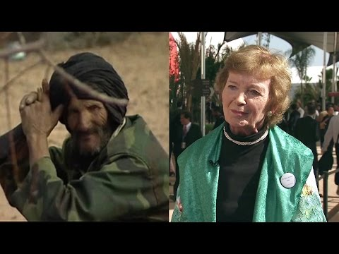 Former Irish President Mary Robinson on Morocco