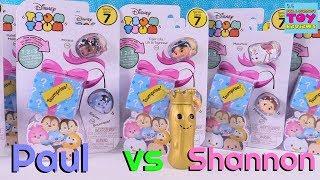 Павло проти Shannon завдання серії Disney Цум Цум 7 Tsumprise огляд іграшки | PSToyReviews