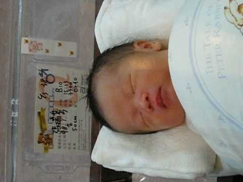Teck Lee's son.....  3 days after birth.