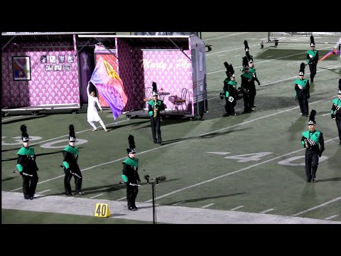 Thousand Oaks High School Marching Band and ColorGuard, SCSBOA 5A Championships, November 18, 2017