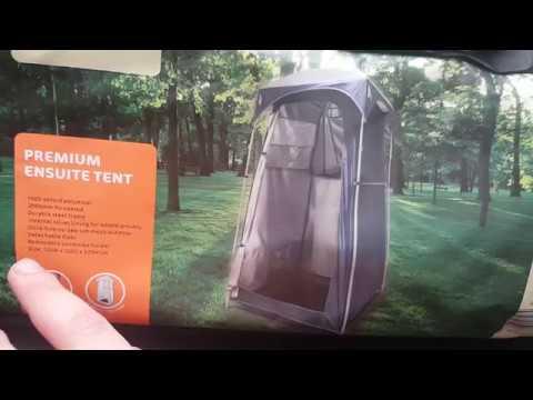 Adventuridge Premium Ensuite Tent Review & Adventuridge Premium Ensuite Tent Review - YouTube