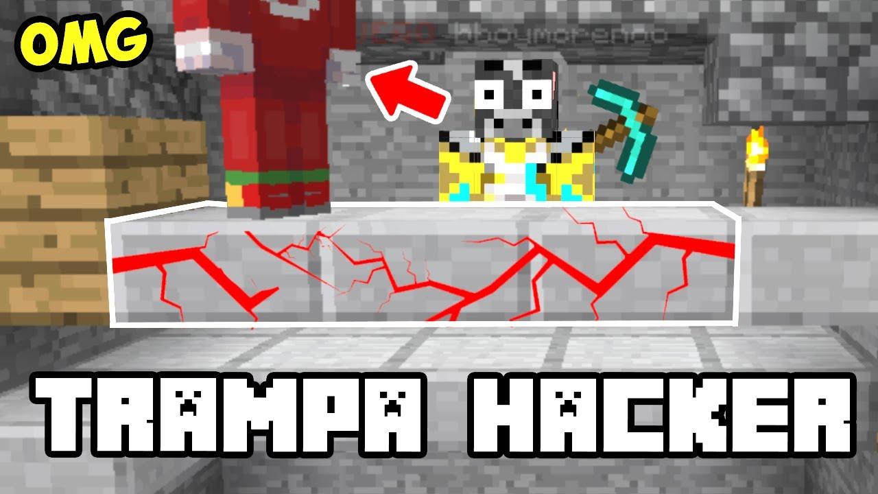MINECRAFT uso TRAMPA ANTI HACKERS ✅ MAPAS DE LUCKY BLOCKS NUEVOS💀
