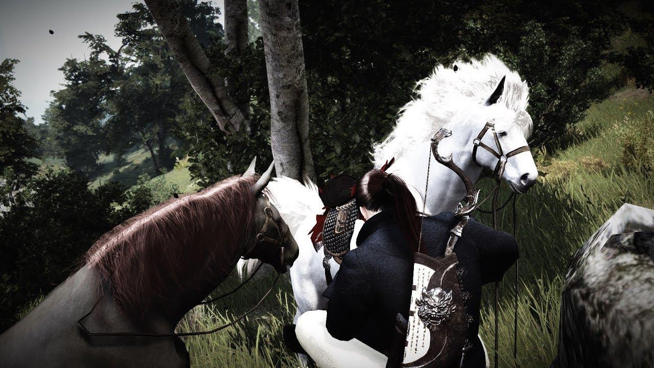 Black Desert Online - Horse mass breeding