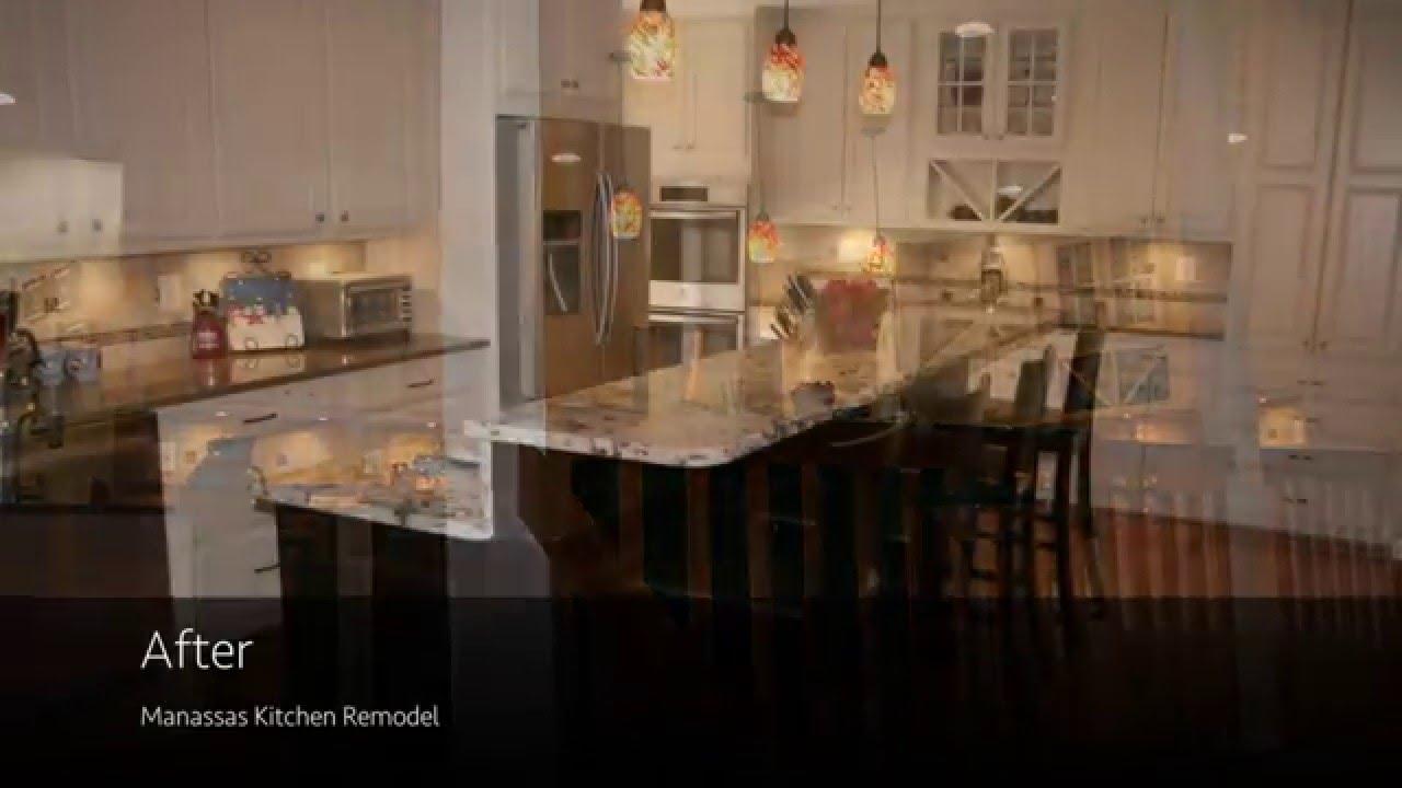 Before & After- Kitchen Remodel in Manassas VA- Lensis Builders-2016 ...