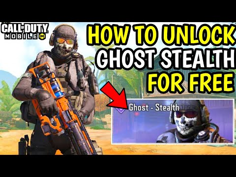 How To Get Ghost - Stealth For Free! Ghost - Stealth Free For Everyone! Call Of Duty Mobile S13!