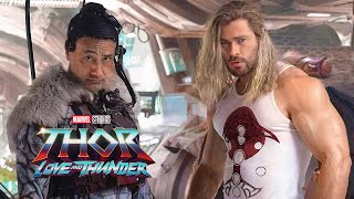 Thor 4 Love and Thunder First Look Teaser Breakdown and Marvel Easter Eggs