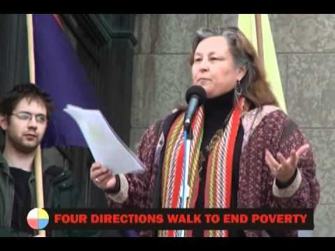 Four Directions Walk to End Poverty