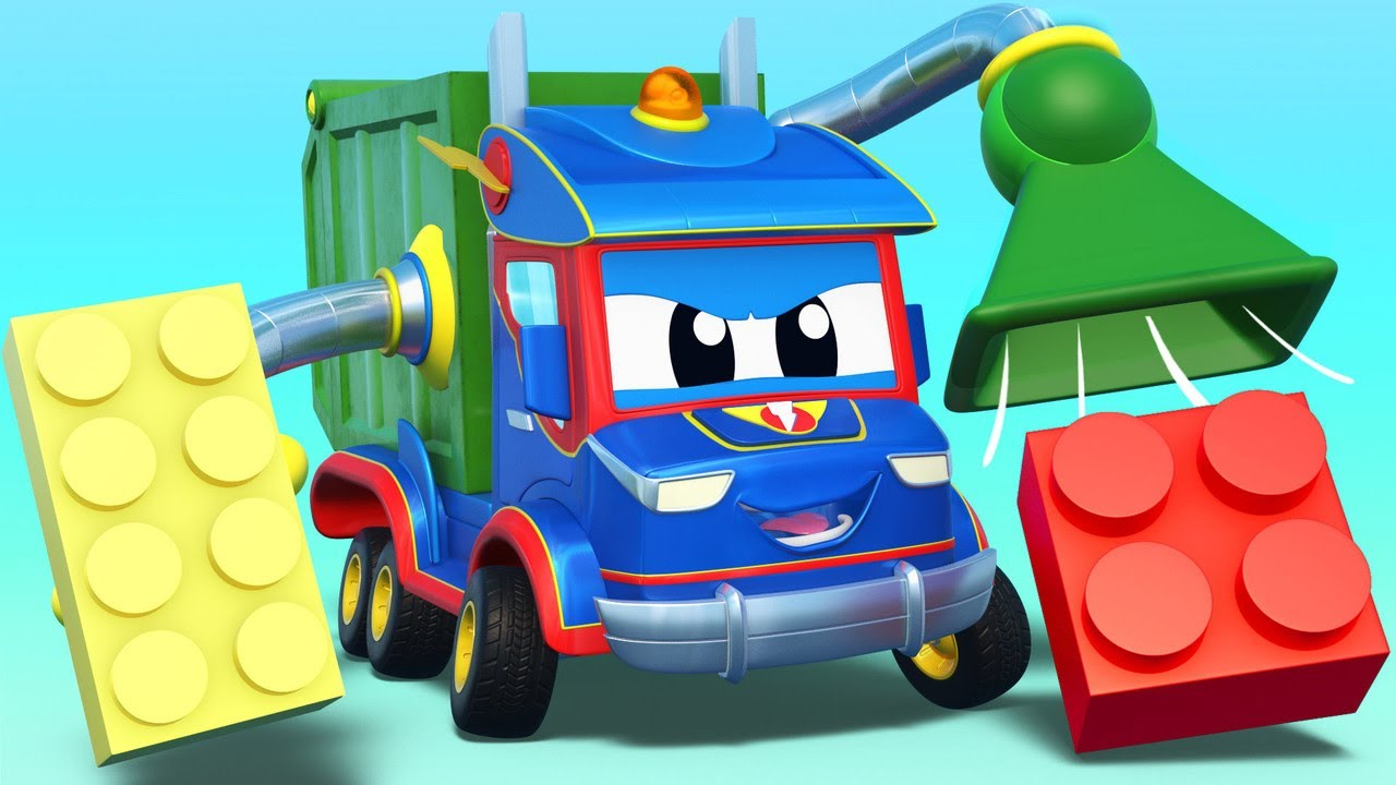 Play LEGO with SUPERTRUCK!  | Super Truck | Car City World App