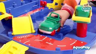 Vodna steza za otroke AquaPlay LockBox v kovčku s