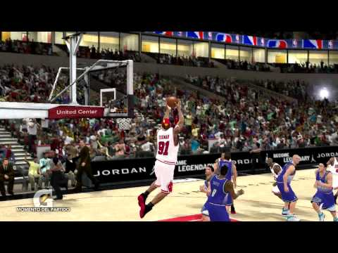 NBA 2K11, Dennis Rodman, Chicago Bulls (PC).