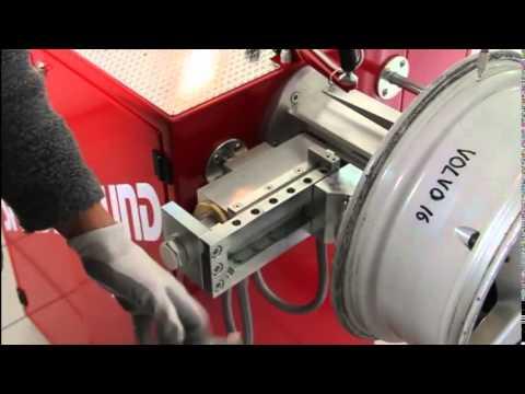 Speedyround Plus Automatic Wheel Repair Machine