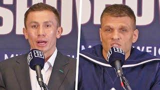 'GGG' Gennadiy Golovkin vs. Sergiy Derevyanchenko FULL FINAL PRESS CONFERENCE | Matchroom Boxing USA