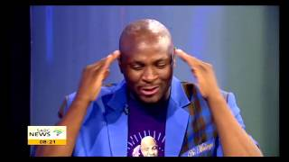 Dr Malinga on his music album