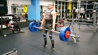 Становая тяга 150 кг на 8 раз 06 04 2016