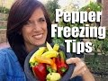 Pepper Freezing Tips - Quick and Easy