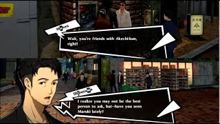 Conversations about Akechi, Maruki & Okumura on parting day - Persona 5 Royal