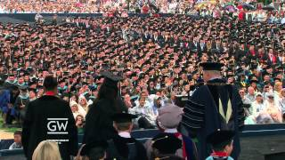 George Washington University 2013 Commencement
