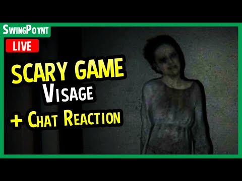 Visage - MUST SEE Horror Game? - (Visage Game Gameplay LIVE With Chat REACTION)