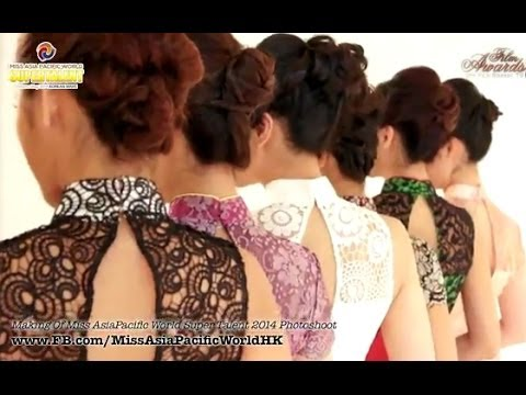 Making of Miss Asia Pacific Hong Kong Macau 2014 Photoshoot