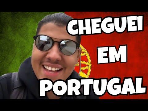 CHEGUEI EM PORTUGAL