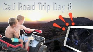 BROKE THE IPAD BUT....THE VIEWS!!! | Cali Road Trip Day 9