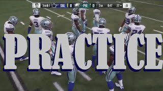COWBOYS CHAT & INTERACTIVE MOCK DRAFT 2.25 (PRACTICE): Watch The Players You Chose In Action!!!