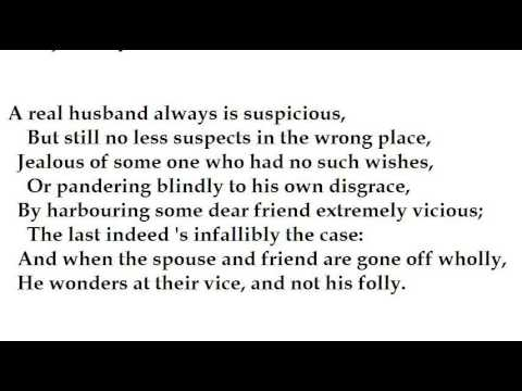 """""""Don Juan"""" (excerpts from Canto I) by George Gordon, Lord Byron  (read by Tom O'Bedlam)"""