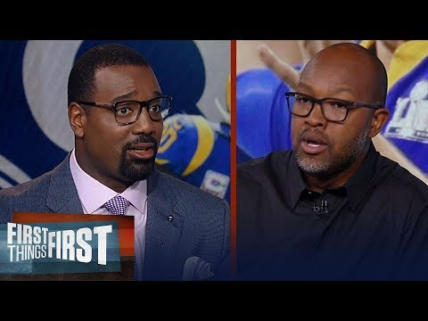 Torry Holt expects Rams to win division, talks Todd Gurley | NFL | FIRST THINGS FIRST