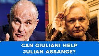Rudy Giuliani provides Assange with some hope for freedom