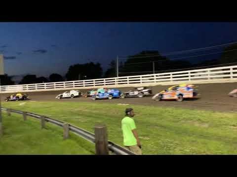 Southern Iowa Speedway - Oskaloosa Iowa Sport Mod A-Main pt.2 6-26-19