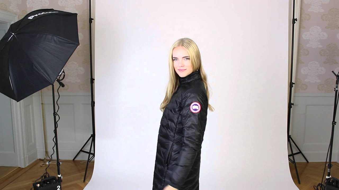 canada goose jacka camp coat black small 2012 09 17 youtube