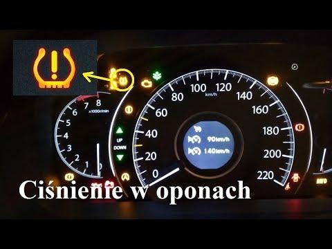 Jak Zresetowa Wyczy Kontrolk Cinienia W Oponach Honda Cr V