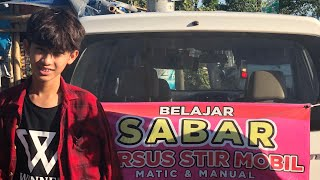 ( FAMILY ) RADEN MUZZAMMIL AMBYA SAPTOHOEDOJO FIRST TIME DRIVING LESSON 17th AUG 2018 MAMUZZ