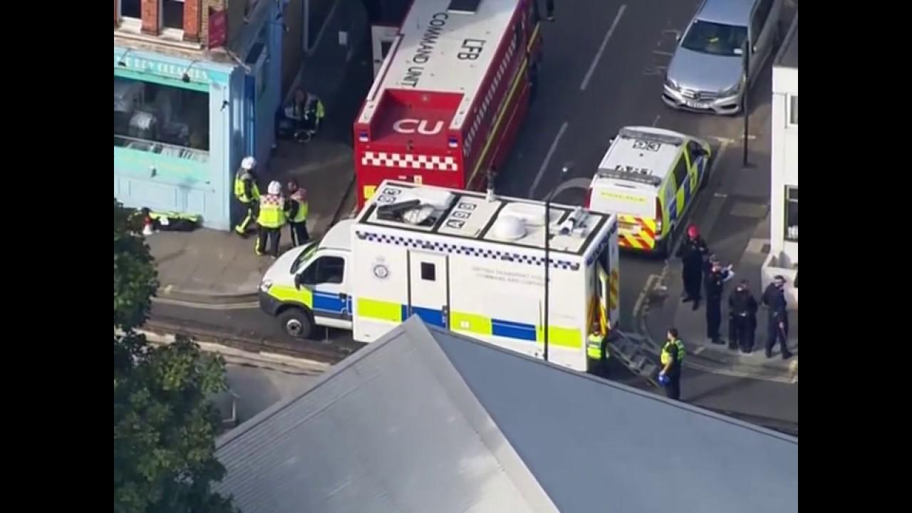 Взрыв в лондонском метро