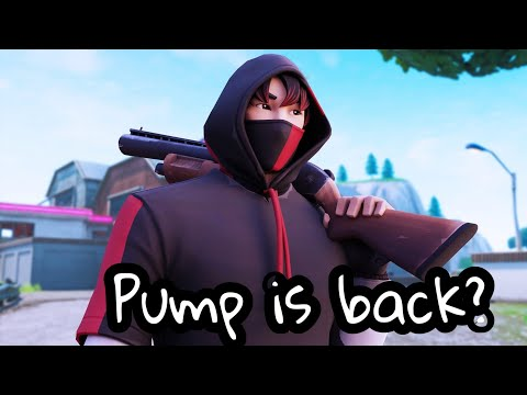 The Pump Is Back