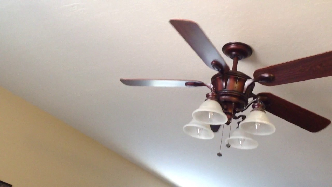52 Quot Harbor Breeze Bellehaven Ceiling Fan Youtube