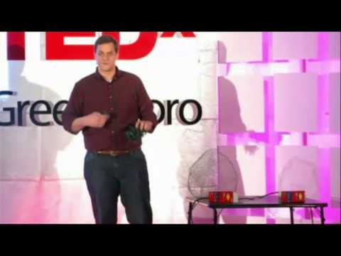 Story of the lighted Christmas balls: Justin Smith at TEDxGreensboro