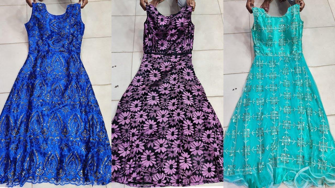 ১২০০ টাকার মার্কেট চ্যালেঞ্জিং অফারে বারবি গাউন   Barbie gown collection at offer price