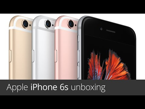 Apple iPhone 6s (unboxing)